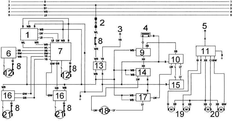1 — усилитель электропривода
